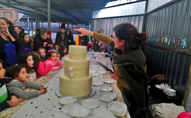 Cien velas por el centenario de la escuela inantil Infanta Leonor