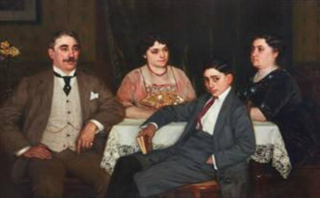 La familia Alemany García dona una pintura de Álvarez Sala