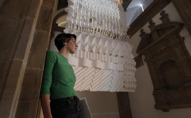 Cristina Busto reivindica el arte manual