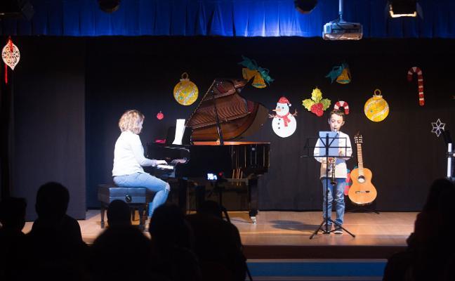 La Escuela Municipal de Música clausura su ciclo de conciertos de Navidad
