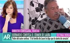 Ana Rosa Quintana al padre de Bernardo Montoya: «¿Tiene dos hijos asesinos o tiene más?»