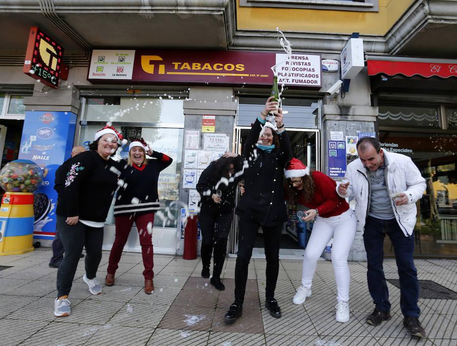 El Gordo de la Lotería de Navidad deja 4,4 millones de euros en Asturias