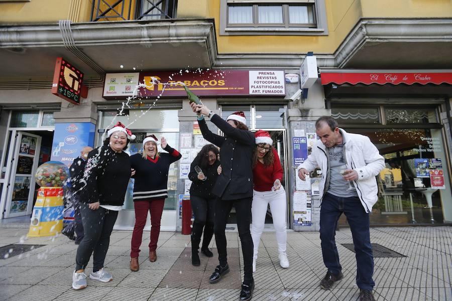 Asturias celebra sus premios de la Lotería de Navidad