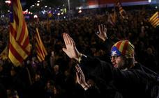 La división de los partidos secesionistas se traslada a la calle