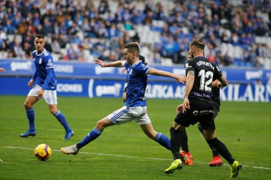 Real Oviedo 0 - 0 Málaga, en imágenes