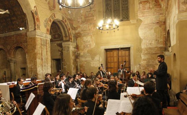 Handel suena entre la magia de Santullano