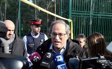 Torra recurre a los políticos presos para reconciliarse con el soberanismo radical