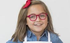 La gijonesa Carlota, de ocho años, aspirante de la nueva edición de MasterChef Junior