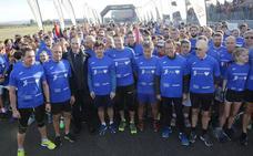 Más de medio millar de participantes corren junto a Fernando Alonso en favor de la seguridad vial