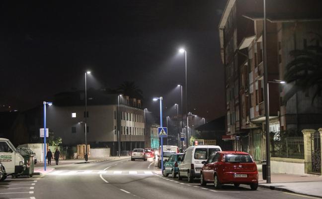 1.600 nuevas LED para las calles de Avilés