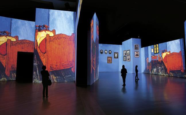 De paseo por un Van Gogh