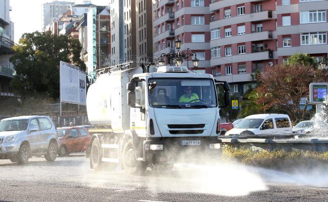 La contaminación se agrava en Oviedo y el Principado mantiene la prealerta