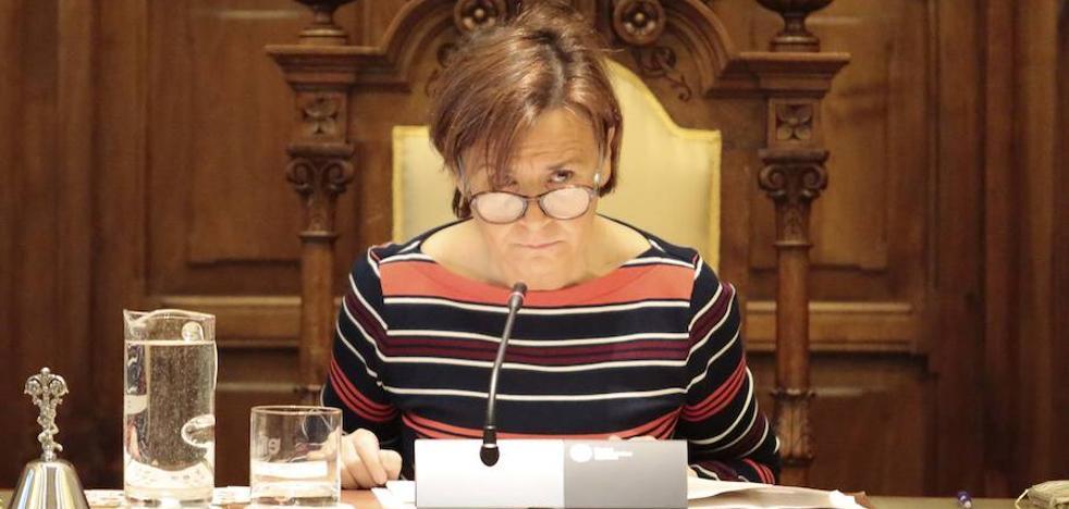 La alcaldesa de Gijón firma una prórroga presupuestaria de 199,9 millones de euros para 2019