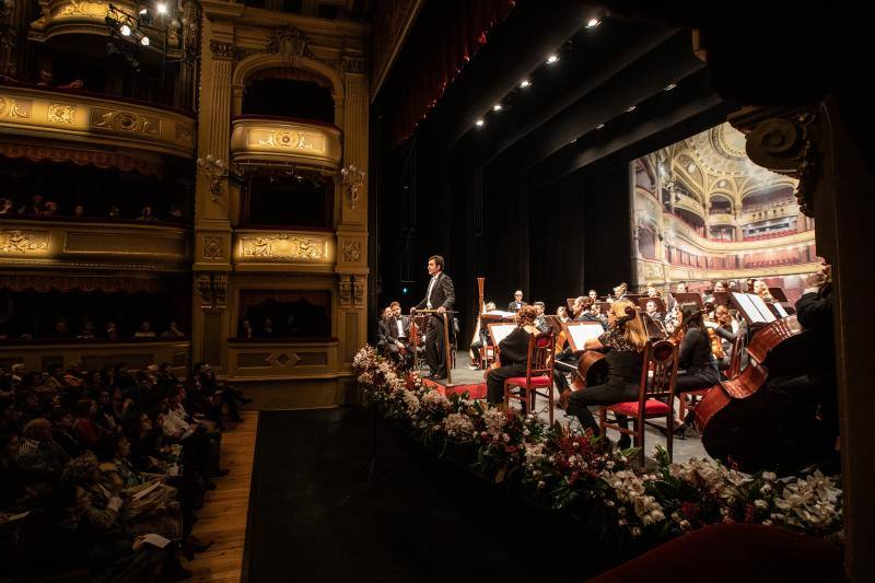 Primer concierto del año en el Palacio Valdés
