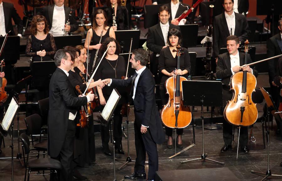 El concierto de Año Nuevo en Oviedo llena el Campoamor