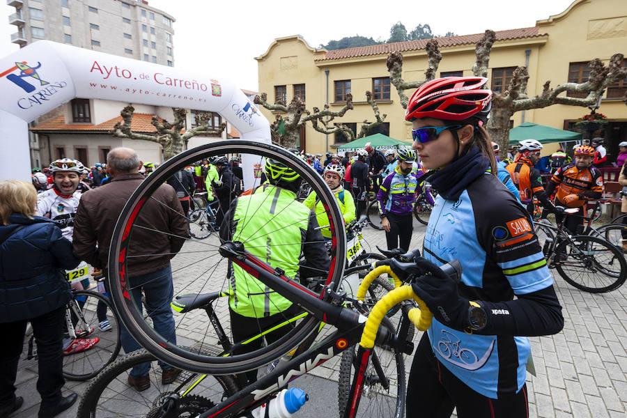 Éxito de la San Silvestre cicloturista de Candás