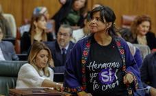 Teresa Rodríguez critica la «complicidad con los asesinatos machistas» de Vox