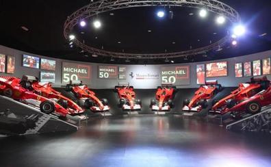 La F1 y Ferrari homenajean a Schumacher en su 50 cumpleaños
