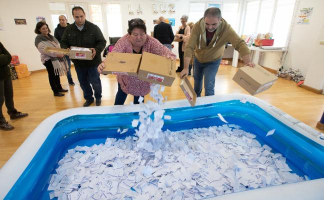 La Luz reparte su gran premio entre 20.000 papeletas