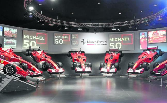 La F1 y Ferrari homenajean al 'Kaiser'
