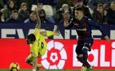El Levante araña un punto tras remontar dos veces al Girona