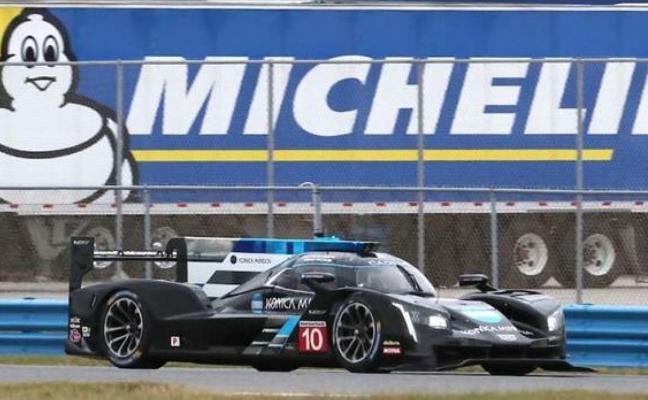 El Cadillac número 10 de Alonso acaba segundo en los primeros tests en Daytona
