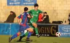 El Sporting B, de penalti, vence en Amorebieta