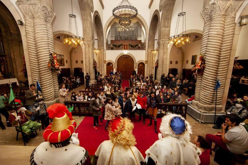 Festival de Villancicos el día de Reyes en Somió