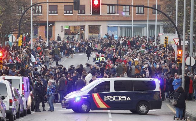 Amplio despliegue policial para velar por la seguridad