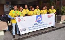 «Día clave» para los trabajadores de Alcoa, que marchan este martes hacia Madrid para reunirse con la multinacional