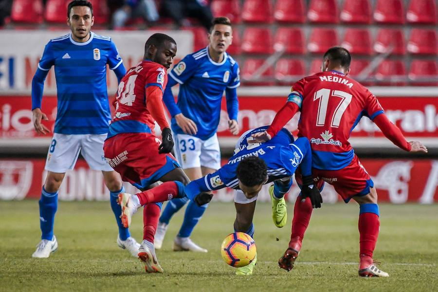 Numancia 2-3 Real Oviedo, en imágenes
