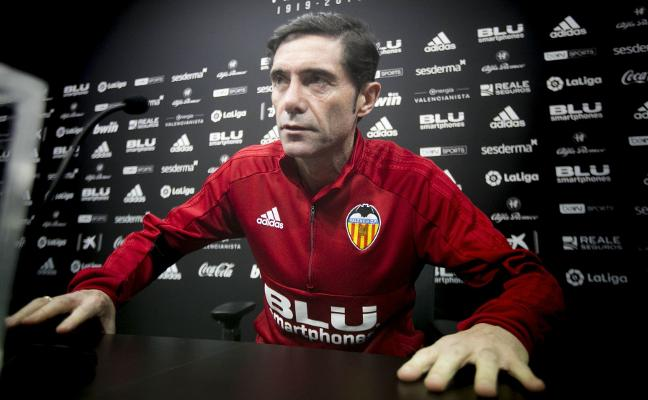 Marcelino: «Soy el mismo entrenador del año pasado, no he cambiado»
