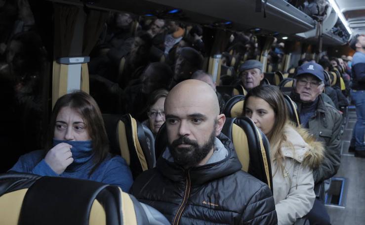Los trabajadores de Alcoa llevan las movilizaciones a Madrid