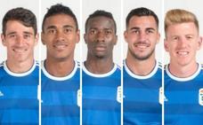 El gol es cosa de todos en el Real Oviedo esta temporada