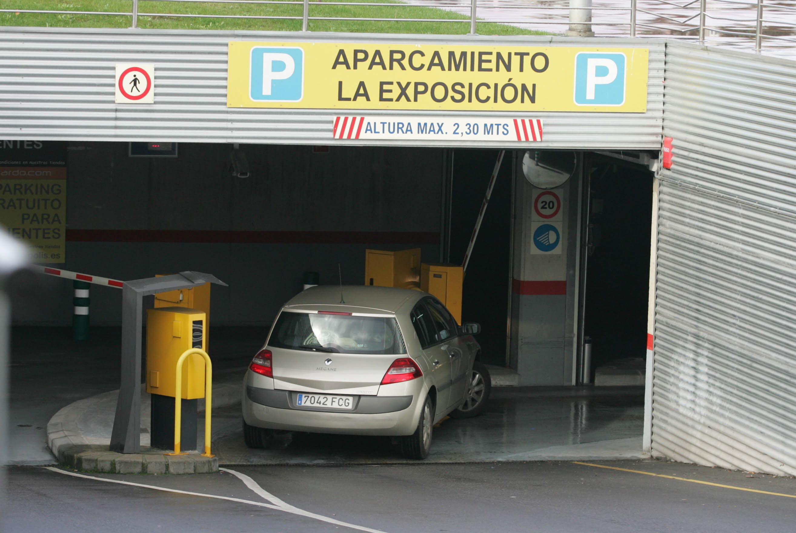 El aparcamiento La Exposición recibe una treintena de solicitudes de compra de plazas