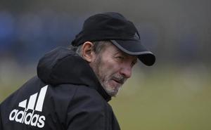 Anquela prepara el duelo ante el Tenerife sin Berjón y con ocho jugadores del filial