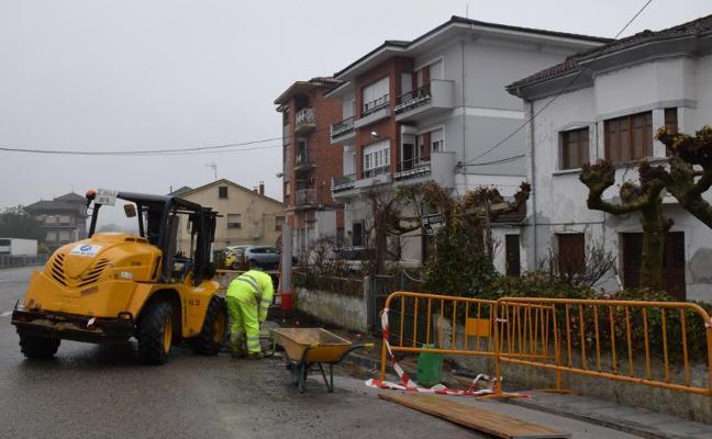 Siero licita el asfaltado de tres calles del polígono industrial Granda II