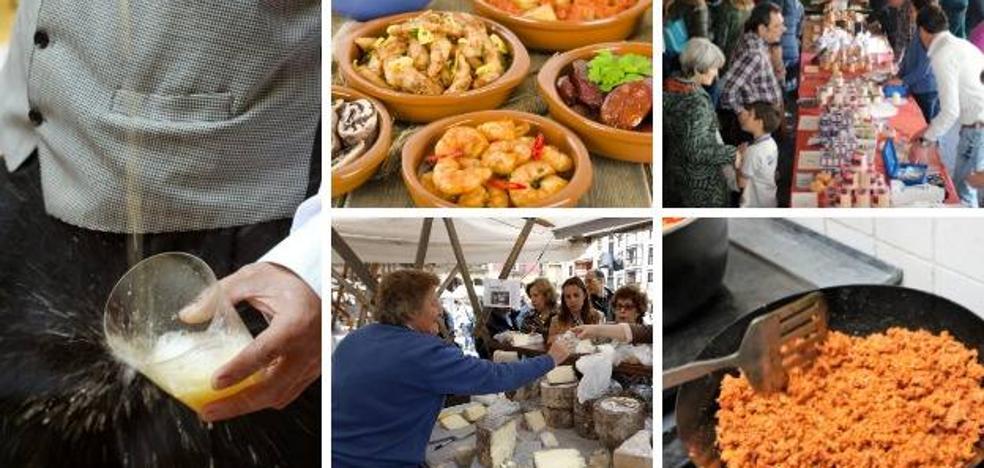Las citas gastronómicas de este fin de semana en Asturias