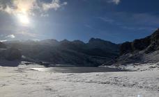 La nieve vuelve a visitar Asturias