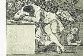 Los caprichos de Goya se mudan a Castrillón