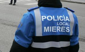 Detenido un conductor en Mieres que quintuplicó la tasa de alcohol