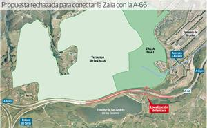 Fomento renuncia al acceso a la ZALIA desde la 'Y' por considerarlo «peligroso»