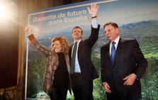 Casado presenta a los candidatos populares en Oviedo