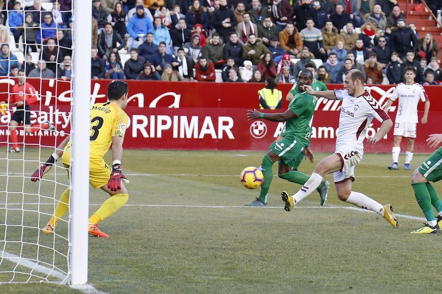 Albacete 1-1 Sporting, en imágenes