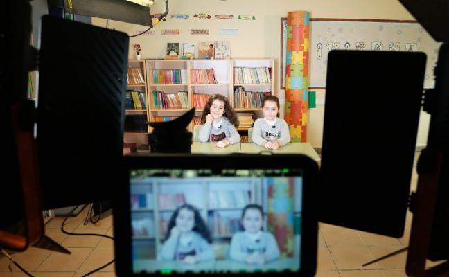 'Juego de niños', en el colegio García Lorca