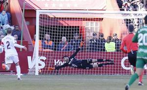 Gol de Zozulia (1-1) en el Albacete 1-1 Sporting