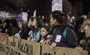 Las feministas se concentran el martes en la plaza Mayor