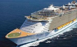 Caos en un crucero con 250 personas contagiadas por un virus