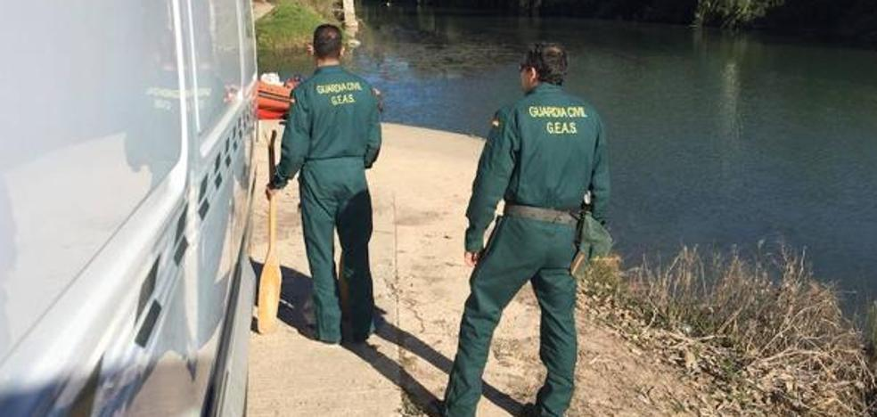 La Guardia Civil halla el cadáver del piragüista desaparecido en el Júcar