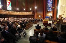 La iglesia Corazón de María despide a Carmen Rodríguez-Arango Díaz, viuda del empresario Luis Orejas Canseco